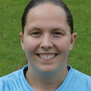 Toni Parkes - voted opposition player of the match after a series of good saves